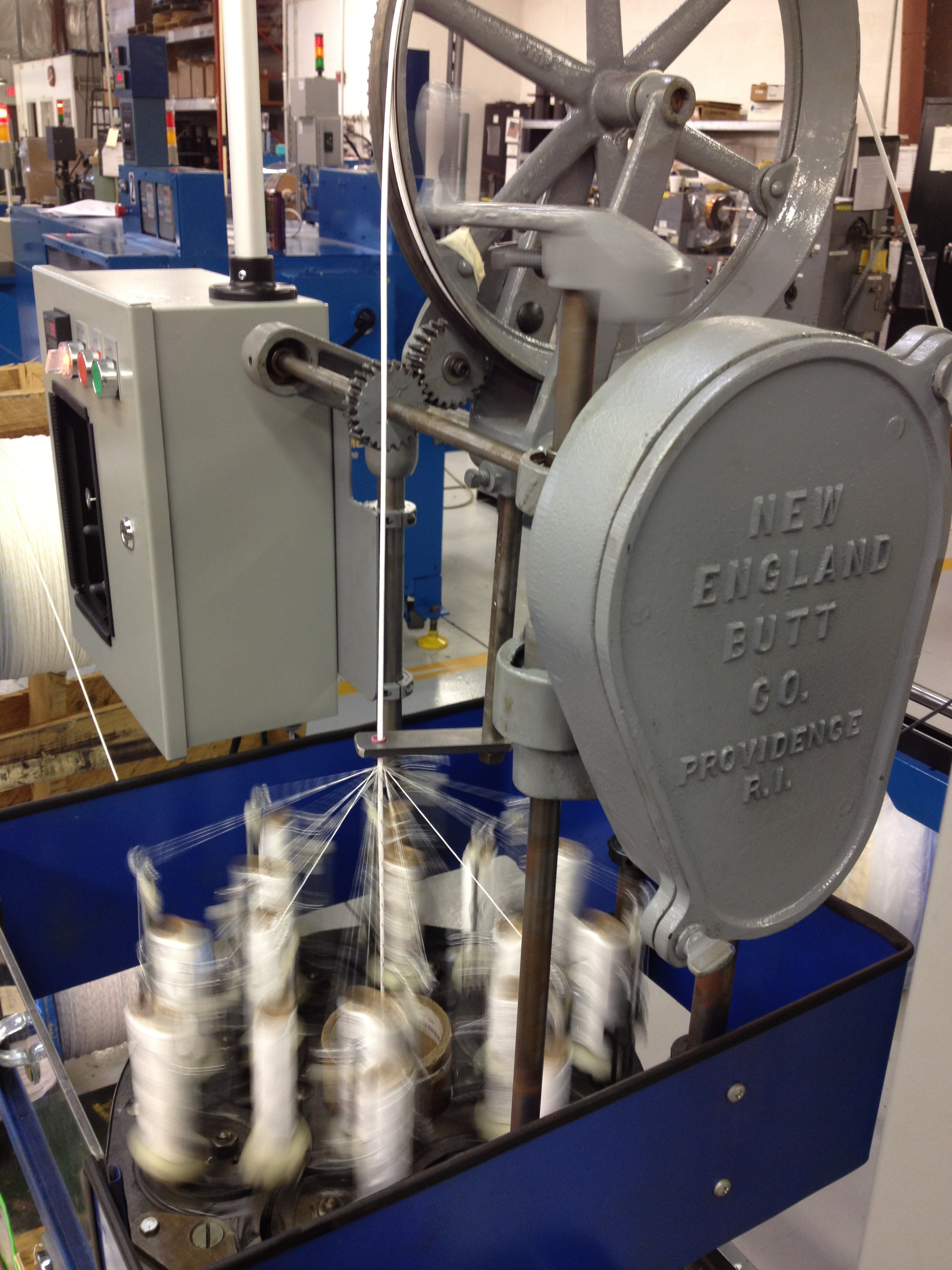 Continued Growth: Additional Braiding Capacity - Pelican Wire Company